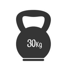 Dumbbell weight training vector
