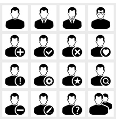 Users icon vector image