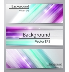 Straight lines abstract banner vector image