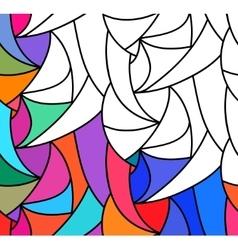abstract seamless fantasy pattern hand vector image