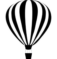 Aerostats in sky vector