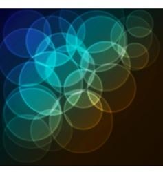 Bokeh blur background vector