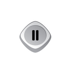 Glossy color app icon button game asset theme vector