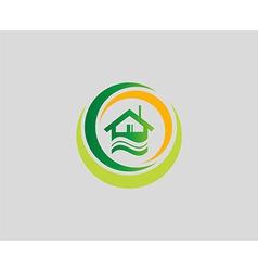 Houses symbol elements also a logo idea vector