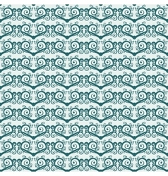 Two-color simple seamless background with spirals vector image