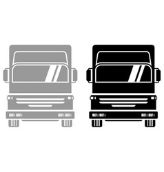 Two truck vector