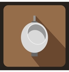 Urinal or chamber pot for men icon vector