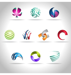 abstract icon vector image