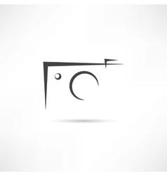 Simple photo icon vector image vector image