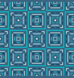 abstract background seamless pattern in blue color vector image