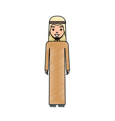 arab man cartoon vector image