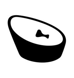 baby beanbag vector image