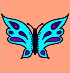 Butterfly image 2 vector