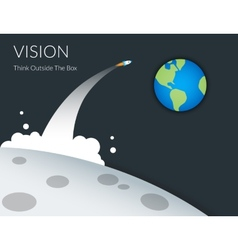 Creative vision vector image