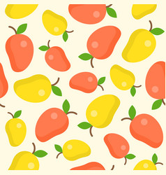 mango seamless pattern for wallpaper or wrapping vector image