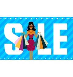 Sale and Successful purchases vector image