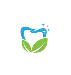 Smile dental logo template icon design vector