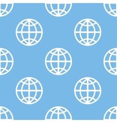 World seamless pattern vector image