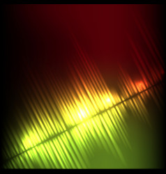 yellow-red diagonal wave abstract equalizer vector image