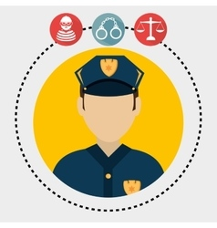Law and legal justice graphic vector image vector image