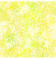 Seamless floral grunge pattern vector