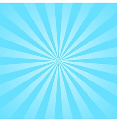 Blue rays star burst vector