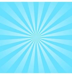 Blue rays star burst vector