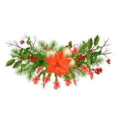 Christmas Holiday Garland vector
