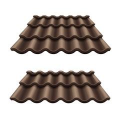 Dark chocolate corrugated vector