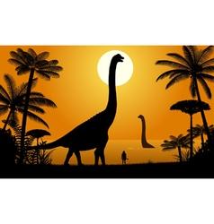 Dinosaur - Abydosaurus vector