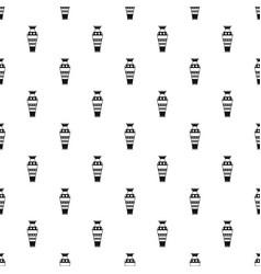 egyptian vase pattern vector image