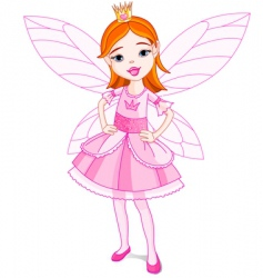 Fairy princess vector