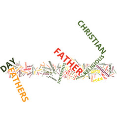 Gifts you can give to christian fathers on father vector