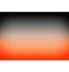 Orange Black Gradient Background vector image