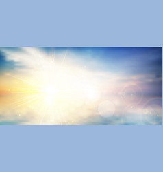 Panorama twilight blurred gradient abstract vector