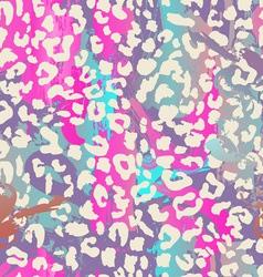 Pastel animal print vector