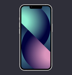 Phone 13 vector