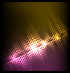 purple-yellow diagonal wave abstract equalizer vector image