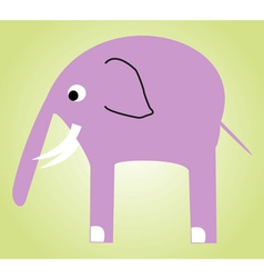 Smiley elephant vector