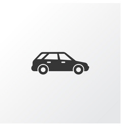 Station wagon icon symbol premium quality vector