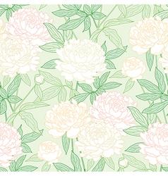 peon pattern green vector image vector image