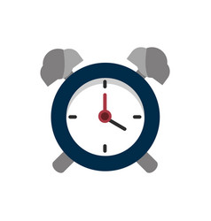 Alarm clock school and education icon vector