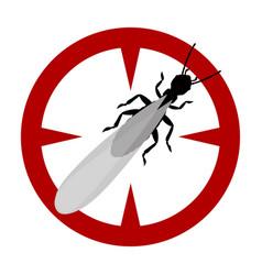 Alates termite iconcartoon icon vector