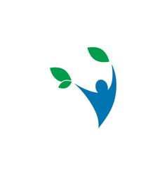 Community non profit logo design concept vector