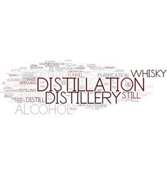 Distillation word cloud concept vector