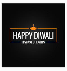 Diwali culture festival logo design vector