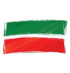 Grunge Tatarstan flag vector image