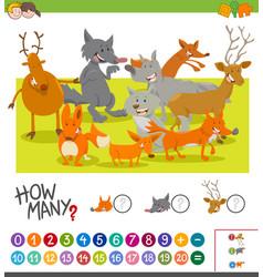 How many animals activity vector