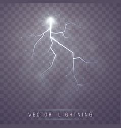 lightning flash bolt vector image