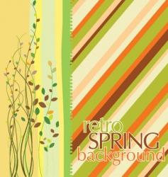 spring design background vector image